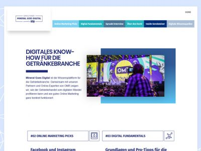 Mineral Goes Digital powered by OMR